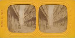 Frankfurt, Synagoge, Rue Du Juifs, Tissue, Bords Du Rhin - Stereoskope - Stereobetrachter