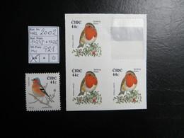 """2002  """" Einheimische Vögel """"  1/2 MH + 1425   Sauber Postfrisch   LOT 921 - Nuovi"""