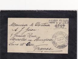 Portugal- Carta Circulada De Lisboa ( Campo Grande) Para França -1945 - Marcofilia