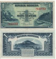 INDONESIA  1 Rupiah    P38   (1951) - Indonésie