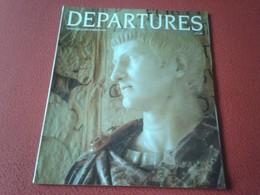 ANTIGUA REVISTA MAGAZINE DEPARTURES NOVEMBER DECEMBER 1989 GLASGOW SCOTLAND UK...ETC VER FOTO/S Y DESCRIPCIÓN - Revistas & Periódicos