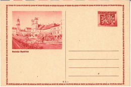 27889. Entero Postal CHECOSLOVAQUIA  1,50 K. Banska Bistrice Motiv - Enteros Postales
