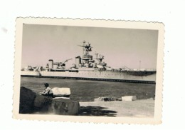 Photo (+/- 6 X 9 Cm) - TOULON  1953 - Croiseur (sous Réserve) - Marine Française  (fr57) - Boten