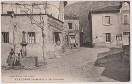 Valgorge ,  La Fontaine - Frankreich