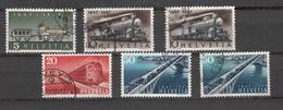 1947   N° 277 à 280x2 +278b   OBLITERES        CATALOGUE ZUMSTEIN - Suisse
