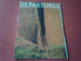 ANTIGUA REVISTA MAGAZINE DEPARTURES SEPTEMBER OCTOBER 1986 BUENOS AIRES ARGENTINA....ETC VER FOTO/S Y DESCRIPCIÓN - Revistas & Periódicos
