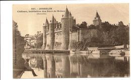 Pêcheur à La Ligne - JOSSELIN - Karten Bost Vers 1900 Hamonic - Josselin