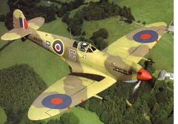 UNUSED POSTCARD (AIRCRAFT OF THE BATTLE OF BRITAIN MEMORIAL FLIGHT) - No 7. SPITFIRE VB AB910 - 1946-....: Moderne