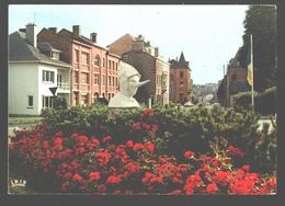 Stavelot - Entrée De Ville - Statue Du Blanc Moussi - Stavelot