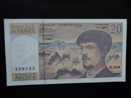 FRANCE : 20 FRANCS  1993 Alphabet H.044  P 151g / FAY 66bis  Presque NEUF - 1962-1997 ''Francs''