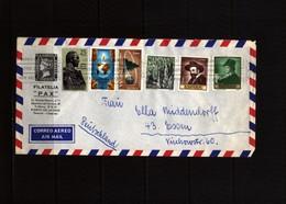 Spain Interesting Airmail  Cover - 1931-Hoy: 2ª República - ... Juan Carlos I