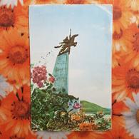 KOREA NORTH 1950s  Postcard - Pyongyang  - Chullima Monument - Korea, North