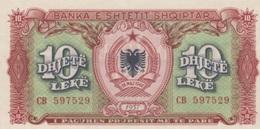 (B0631) ALBANIA, 1957. 10 Leke. P-28a. UNC - Albania
