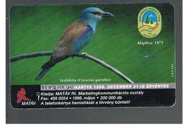 UNGHERIA (HUNGARY) -  1998  BIRDS: CORIACIAS GARRULUS     - USED - RIF. 10121 - Hungary