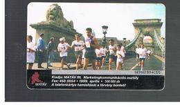 UNGHERIA (HUNGARY) -  1999   VIVICITTA' MARATHON     - USED - RIF. 10122 - Hungary