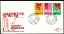 Netherlands Gravenhage 1970 / Fight Against Heart Disease / FDC - Disease