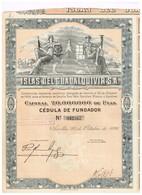 Ancienne Action - Islas Del Guadalquivir S.A. - Titre De 1926 - Industrie