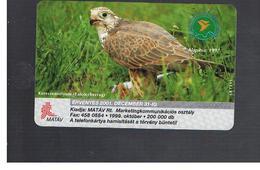 UNGHERIA (HUNGARY) -  1999  BIRDS: FALCO CHERRUG     - USED - RIF. 10122 - Hungary