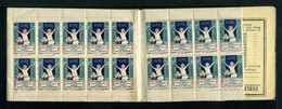 Carnet De 1928  - Tuberculose - Antituberculeux - N° 28*Calvados*6 -- Maison De Paris - Commemorative Labels
