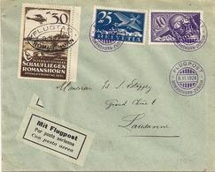 Poste Aérienne Romanshorn-Zurich - 1924 - Timbres