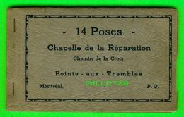 LOT DE 14 POSES DU CHEMIN DE CROIX, CHAPELLE DE LA RÉPARATION, QUÉBEC - PUBLIÉ PAR, DAROIS ET STEBEN, MONTRÉAL - - Cartes Postales