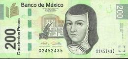 MEXICO P125i 200 PESOS  24.6.2011 Serie AE   VF - Mexico