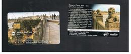UNGHERIA (HUNGARY) -  2001    CHINA, MARCO POLO BRIDGE  - USED - RIF. 10129 - Hungary