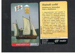 UNGHERIA (HUNGARY) -  2002  BALATON, SAIL BOAT  - USED - RIF. 10130 - Hungary