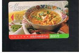 UNGHERIA (HUNGARY) -  2002  FOOD  - USED - RIF. 10130 - Hungary