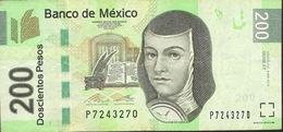 MEXICO P125n 200 PESOS  4.4.2014  Serie AT  VF 2 P.h. - Mexico