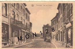 BELGIQUE SAMBREVILLE - TAMINES - RUE DE LA STATION (voitures) - Sambreville