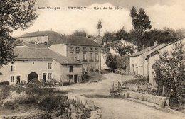 CPA - ATTIGNY (88) - Aspect De La Rue De La Côte Dans Les Années 20 - France