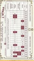 Oenologie/Alcools/Maxim's Orly-Ouest/Restaurant/Carte Recto-Verso/Carte Des Millésimes /1985     OEN4 - Alcohols