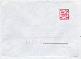 YUGOSLAVIA 1989 Postal Coach 1600. D. Envelope, Unused.  Michel U93 - Postal Stationery