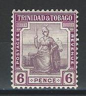 Trinidad & Tobago SG 153, Mi 74a * MH - Trinidad & Tobago (...-1961)