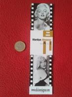 MARCAPÁGINAS PUNTO DE LIBRO BOOK MARK BOOKMARK MARILYN MONROE EDICIONES JAGUAR VER FOTO/S Y DESCRIPCIÓN - Marcapáginas
