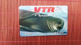 CHILE VTR Prepaid Card $1000 (Mint,Neuve ) - Chile