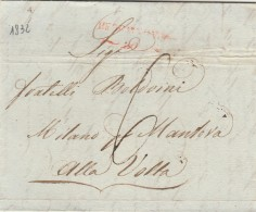 LETTERA PREFILATELICA 1832 (GX51 - Italia