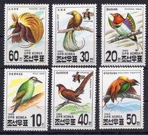 F116 - Birds.Fauna.Nature - Set Of 6 Perf. MNH** - Birds