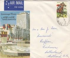 LETTERA AUSTRALIA - AIR MAIL (GX170 - 1980-89 Elizabeth II