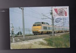 89 YONNE T G V  Mise En Service Ligne  PARIS ST FLORENTIN 24/25 Novembre 1981 - Saint Florentin