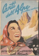 LIBRO CANTI DELL'ALPE - (GX199 - Casa E Cucina