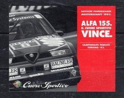 Adesivo - Stiker   - ALFA 155.  Campionato Tedesco Turismo '93 - - Stickers