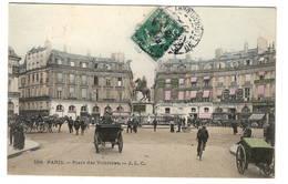 75 PARIS - 1er Et 2ème . Place Des Victoires, Aquarellée - Arrondissement: 01