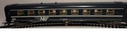 HO - LIMA - VOITURE VOYAGEUR SNCF  TRANS EURO NUIT - 4 ESSIEUX - Scompartimento Viaggiatori