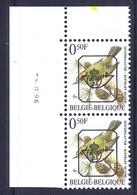 453 * Buzin  PRE * Nr 815 P8  4-4-96 * Postfris Xx * FLUOR PAPIER - GROENE GOM - 1985-.. Oiseaux (Buzin)
