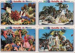 LOT De 8 CPM -- 06 NICE -- BATAILLE DES FLEURS - Marchés, Fêtes