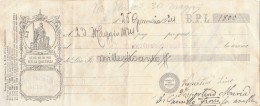 CAMBIALE PAGATA 1924 BPL (GX383 - Calendari