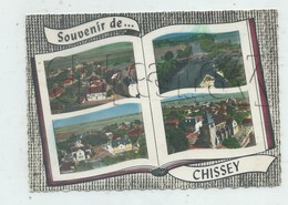 Chissey-sur-Loue (39) : 4 Vues Aériennes Dans Un Livre Env 1960  GF. - Otros Municipios