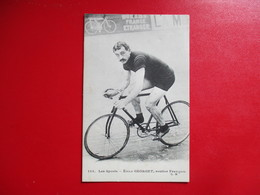 CPA LES SPORTS CYCLISME CYCLISTE EMILE GEORGET ROUTIER FRANCAIS - Cycling